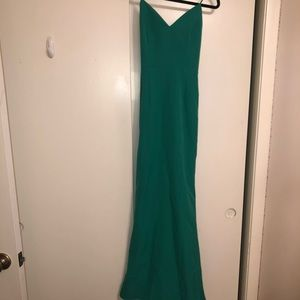 Minuet Kelly Green Prom Dress -size Medium